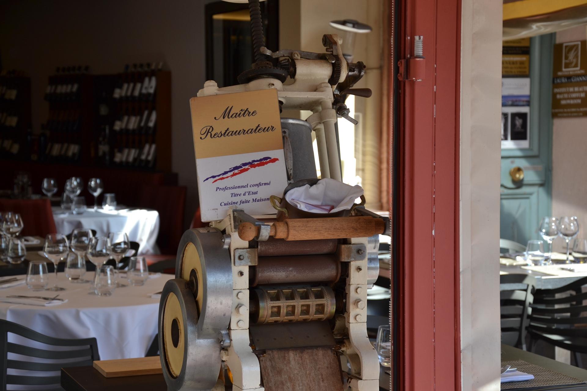 Bella storia italien cannes maître restaurateur